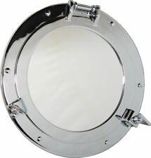 Porthole Mirror, Porthole with Mirror, Brass Chrome-Plated Ø 20 CM