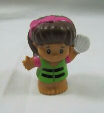 Fisher Price Little People BEACH BOATING HISPANIC GIRL MIA Life Vest Shell Raft
