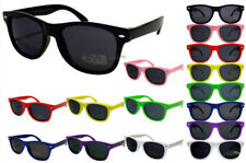 Children's Sunglasses Multipack Colour Frame Dark Lens Boys & Girls Retro NWT