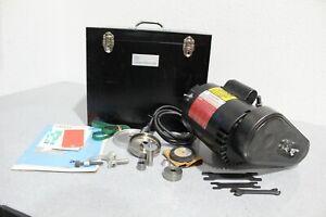 1/2HP Dumore 57-021 Tool Post Grinder Bundle Nice Condition