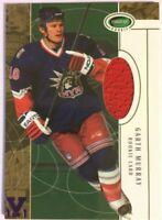 2003-04 Parkhurst Rookie Jersey Rookie Card Garth Murray Vault Purple 1/1 #148
