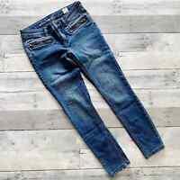 Free People Jet Low Rise Skinny Jeans Women's Size 27 NWOT