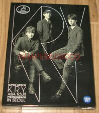 Super Junior K.R.Y. Asia Tour Phonograph in Seoul K-POP DVD + FOLDED POSTER NEW