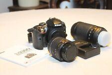 Nikon D3300 digital camera outfit w/ 18-55mm & 70-300mm lens
