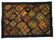 Indian Handmade Embroidered Cotton Table Runner Ethnic Wedding Party Decoration