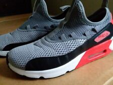 Nike Air Max 6Y Gray Black White Coral Red Great Condition Fit Women's 7.5
