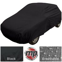 Black Indoor & Outdoor Frost Rain Sun Protection Breathable Full Car Cover SMALL