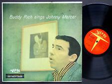BUDDY RICH Sings JOHNNY MERCER LP VERVE RECORDS MG V-2009 US 1956 DG MONO NM
