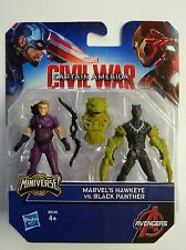 Civil Wars Captain America - Marvel's Hawkeye vs. Black Panter - Minverse - Neuf