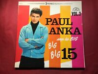K2-8 PAUL ANKA Sings His Big, Big, Big 15 Volume 3 ... ABCS-409