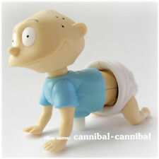 ~ Rugrats - 1998 wind up - white knob windup - crawling Tommy