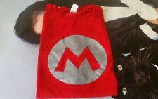 Camiseta hombre talla L roja Super Mario Bros Nintendo