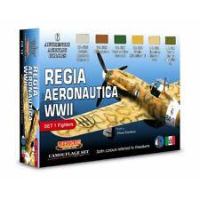 Lifecolor CS19 Italian Regia Aeronautica WWII Set 1  6 x 22 ml (100ml = 13,64€)