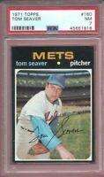 1971 Topps #160 Tom Seaver Card - HOF - Mets - PSA 7 - NM - 45651818 - (SCA)