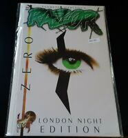 Razor Zero London Night Edition MATURE READERS High Grade Comic Book RM7-205