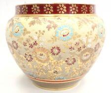 More details for antique doulton & slater lambeth large pottery jardinière planter 1886-1914 -bc4