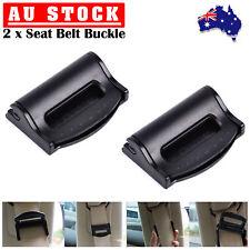 2x Car Seat Belt Adjuster Clip Safety Belt Strap Clamp Extender Universal