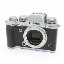 Fujifilm Fuji X-T3 26.1MP Mirrorless Digital Camera Body (Silver) #240