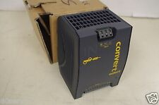POWER ONE AC-DC DC-DC CONVERTER 100-240VAC TO 24.7VDC @ 5AMPS DIN RAIL NEW