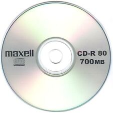 20 x Maxell CD-R Data/Audio Blank Discs Scratch Proof In Disc Sleeves