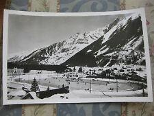 CPA 1950 1960 Chamonix La plus grande patinoire artificielle du monde Mt Blanc