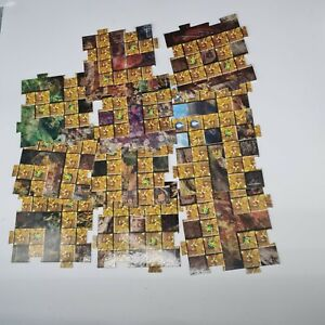 Lego Orient Expedition Gameboard - Set 7419 Dragon Fortress