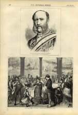 Saratoga SPRINGS 1875 tomar las aguas recuento Munster embajador alemán