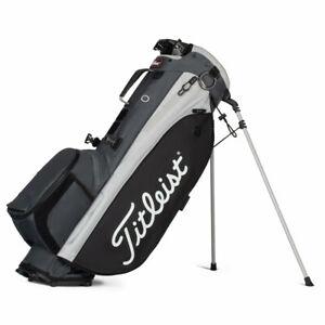 Titleist Players 4 Plus Stand Golf Bag - TB21SX1-202 - Charcoal/Black/Gray -