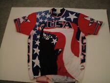 Usa Pace Sportswear Bike Shirt Bicycle Statue of liberty