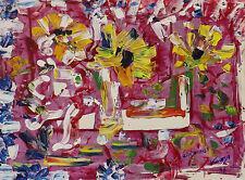 Acryl künstlerische Malereien von 1950-1999 als Original der Zeit