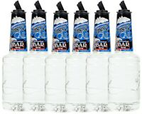 6 Pack Finest Call 1 Liter Premium Bar Simple Syrup Drink Mixer WEB Sweetener