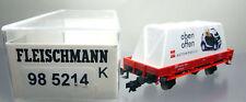"Fleischmann 98 5214;Gerätewagen DB "" Busch oben offen"", unbespielt OVP /D415"