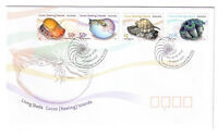 2007 FDC Cocos (Keeling) Islands. Living Shells. Shell Pictorial PMK