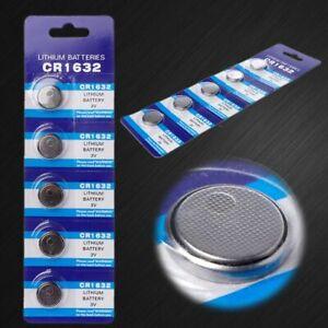 5 x 3V CR1632 / BR1632/ECR1632 CR 1632 Lithium 3v Coin Battery - Melbourne Stock