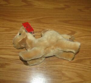 NWT Camel Aurora Plush Stuffed Animal Toy Cute Cuddly Tan Soft Animal Desert NEW