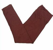 L/XL Lularoe Kids Leggings Solid Red Burgundy NWT 402642