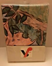 Abstract Duvet Cover / Blanket & Pillowcase / Single / Made in West Germany NIP