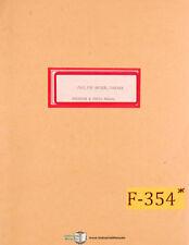 Fuji FSR, Universal Chucker Instructions Parts and Wiring Manual