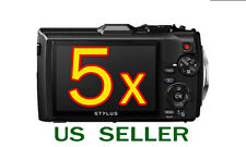 5x Olympus Tough Tg-3 Tg3 Digital Camera Lcd Screen Protector Guard Shield Film