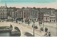 Ireland Cork St Patricks Bridge Vintage Postcard 14.3