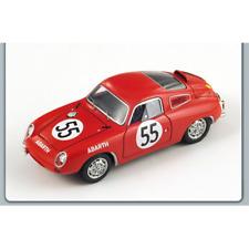 ABARTH 700 S N.55 Le Mans 1961 1:43 Spark Model Auto Competizione Spark Model