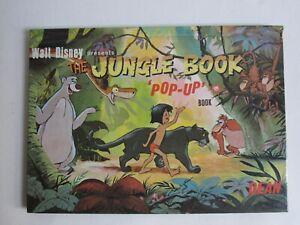 The Jungle Book Walt Disney Pop-Up Book (Dean & Son 1966)