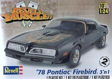 Revell,Monogram 1/24th Kit '78 Pontiac Firebird 3'n1 New American