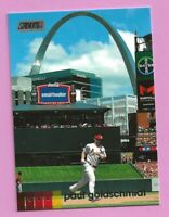 2020 Topps Stadium Club Paul Goldschmidt #68 St. Louis Cardinals