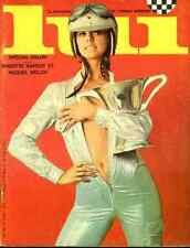 ANNY DUPEREY RAQUEL WELCH BRIGITTE BARDOT ASLAN Pinup Lui magazine 34-1966