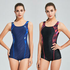 Competition Training One Piece Swimsuit Women Quick Dry Profession Swimwear 486