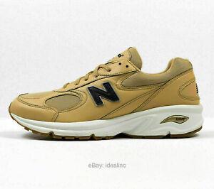 New Balance 498 Lifestyle Shoes Leather Mustard Yellow Size 10 ( ML498KBD )