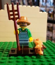 LEGO MINIFIGURES SERIES 15 Genuine minifig- Farmer with Pig