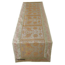 Table Runner Indian Wedding Vintage Table Cloth Table Cover lace Traditional