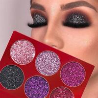 fard à paupières palette pigment maquillage pour les yeux des paillettes